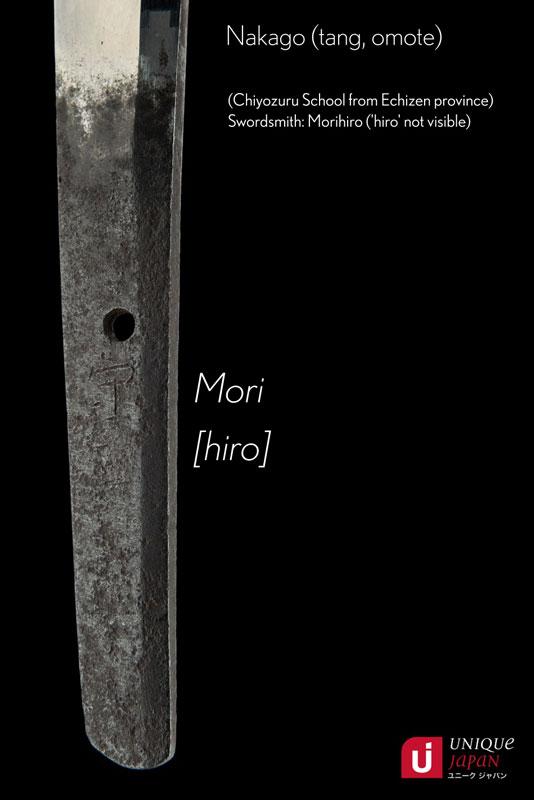 Хвостовик японского меча