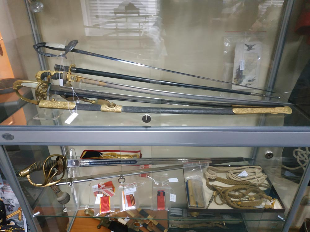 аукцион антикварного оружия в Украине