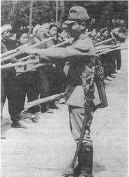 Японский меч армейских сержантов образца 1945 года